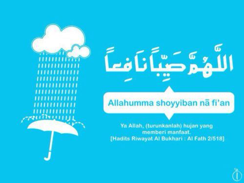 Dua in rain #makingdua