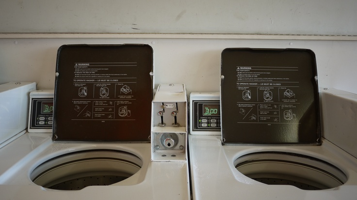 how to trick coin operated laundry machine