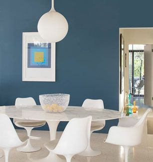 Living room or dining room Benjamin Moore Color Trends 2015   Walls  blue  danube ben Eggshell  Ceiling  patriotic white Waterborne Ceiling Paint  Ultra Flat. 46 best paint images on Pinterest   Wall colors  Color palettes