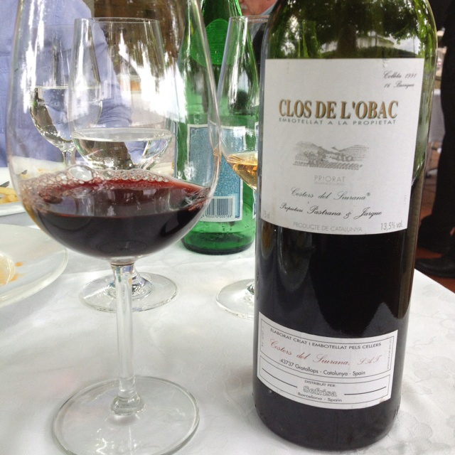 1991 Clos de L'Obac - Priorat  - Still young, between primary and secondary aromas, deep cassis and spice, good structure and balance, medium length - 91 points - @Rekondo