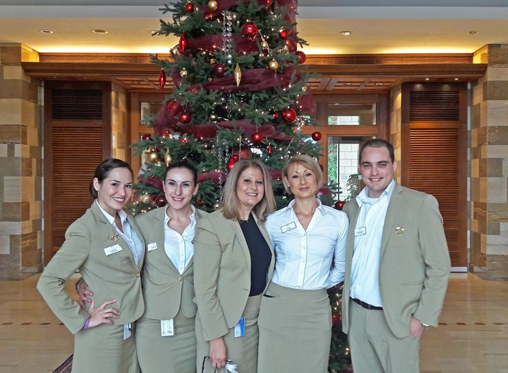 The #warmest #welcome , #courtesy of our #Guest #Service team, lead by our Guest Service Manager Maria ! #guestservice #concierge #luxury #resort #pissouribay #cyprus 💙