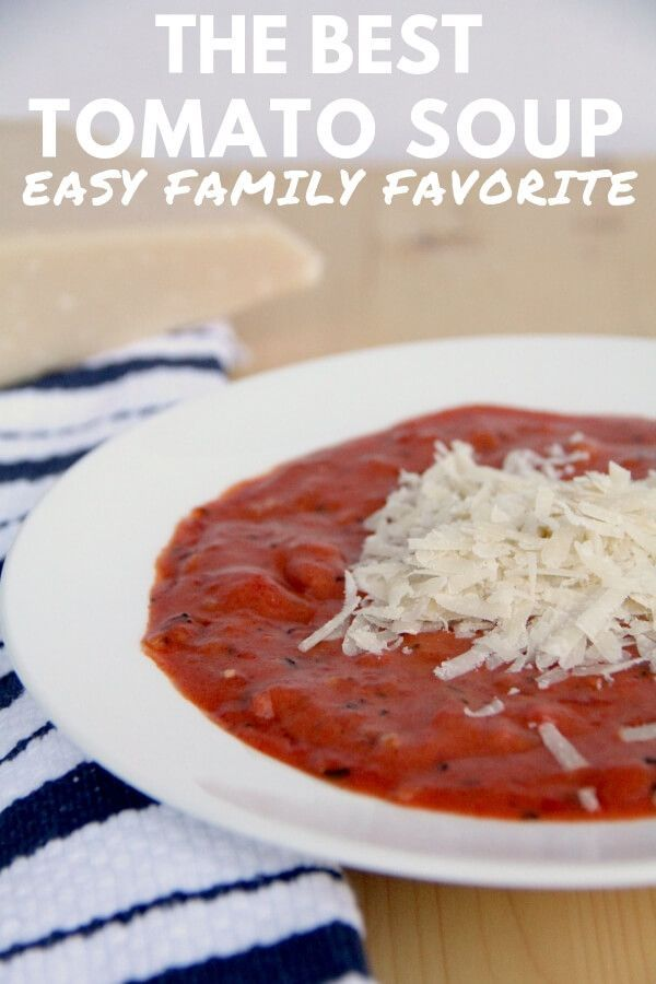 Cream of tomato soup recipe with tinned tomatoes
