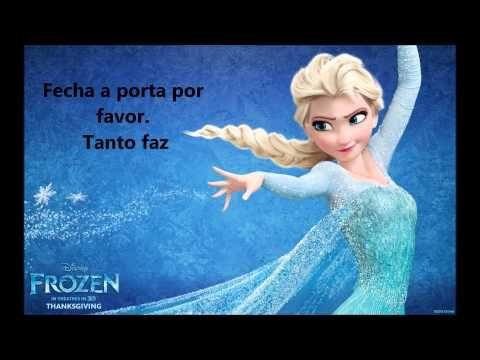 Já passou (Let it Go) | Frozen | Karaoke português PT - YouTube