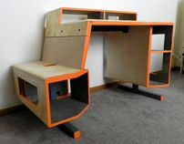 A comfortable, convenient and simplified desk that caters to the needs of a maturing gaming market.