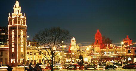 Nothing says Christmas tradition like the Kansas City Plaza