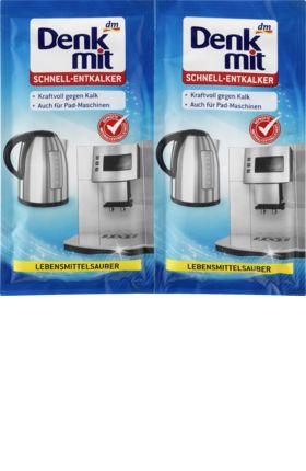 Der Denkmit Schnell-Entkalker ist speziell für die schnelle Entkalkung von Haushaltsgeräten wie Kaffeemaschinen, Espressomaschinen, Kaffeevollautomaten,...