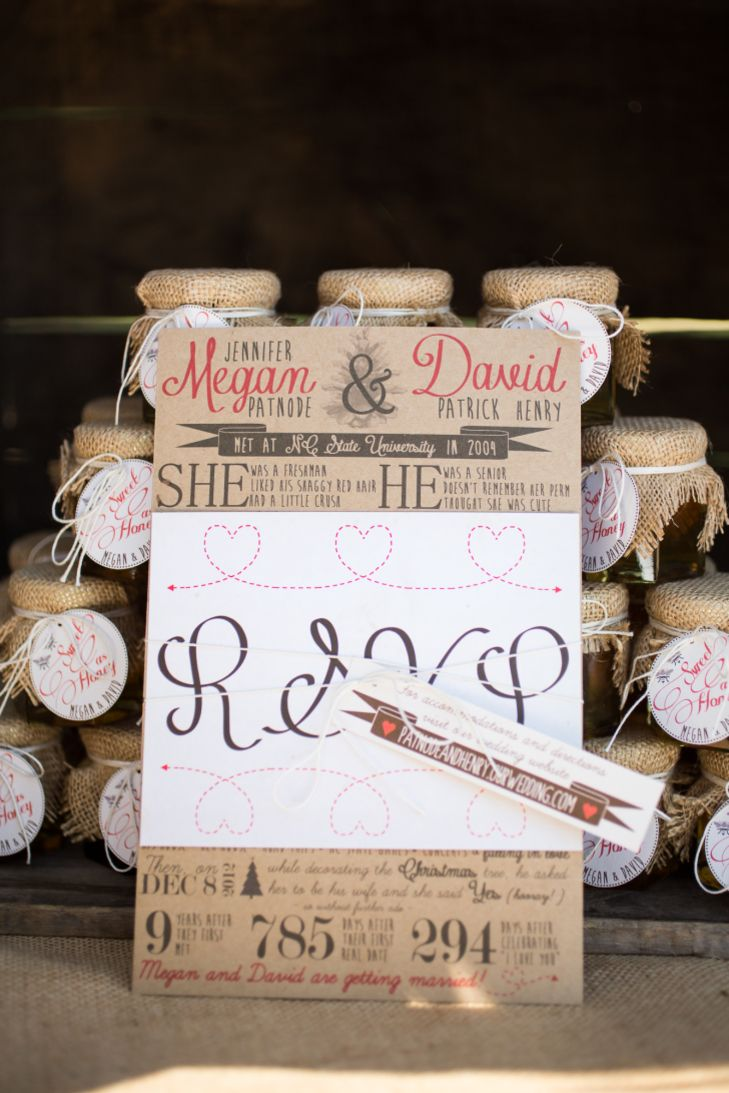 diy wedding invites rustic%0A Rustic wedding stationery for fall wedding