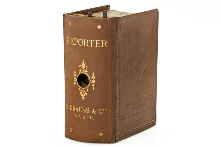 Krauss book camera
