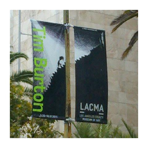 LACMA Shop - Tim Burton Street Banners
