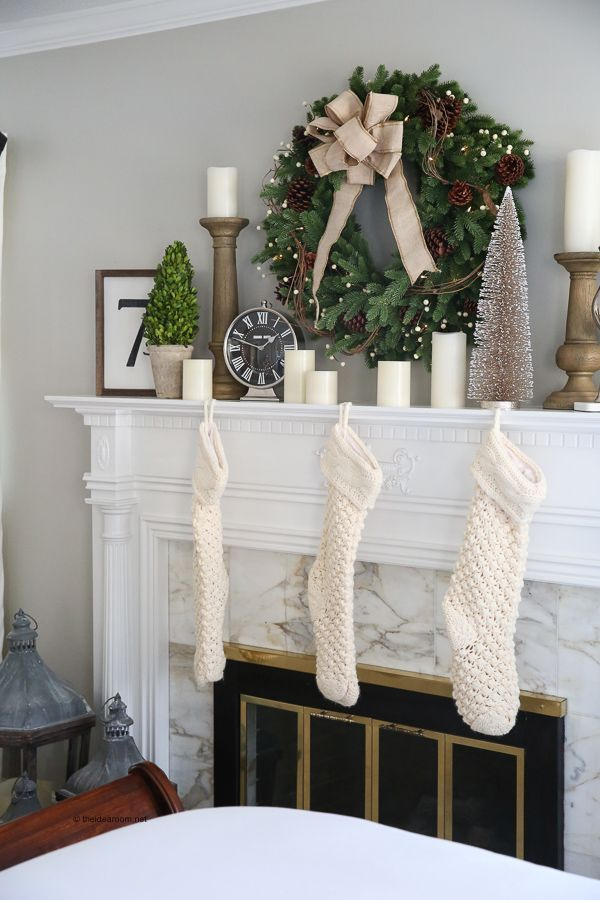 Master bedroom | Master Bedroom Decorations | Christmas Decorations | Holiday Decor | Check out our Holiday Housewalk Tour with Balsam Hill!
