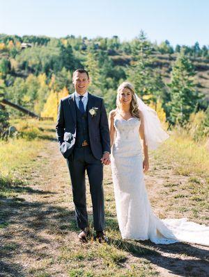 Romantic Rocky Mountain Wedding