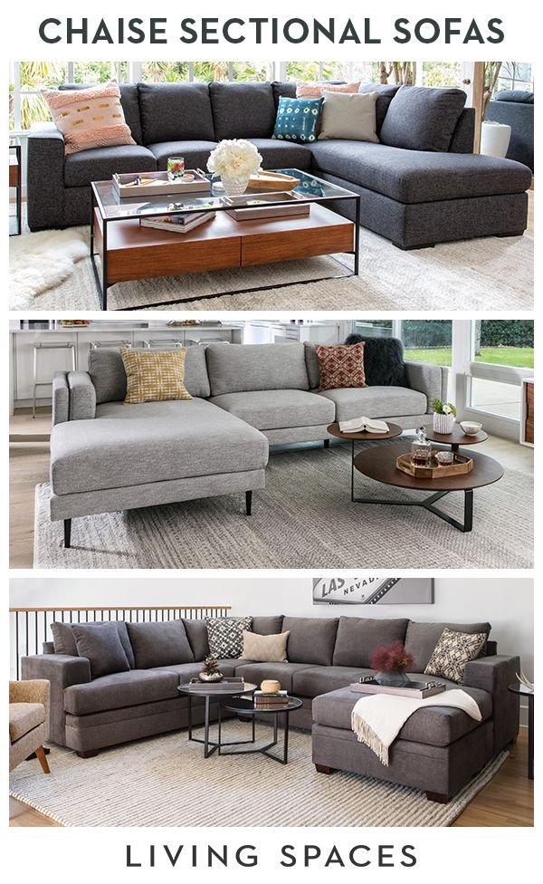 Sectional Sofas With Chaise Lounge Provide A Spacious Configuration To Become The Ultimate R Living Room Chaise Sectional Sofa With Chaise Living Room Redesign