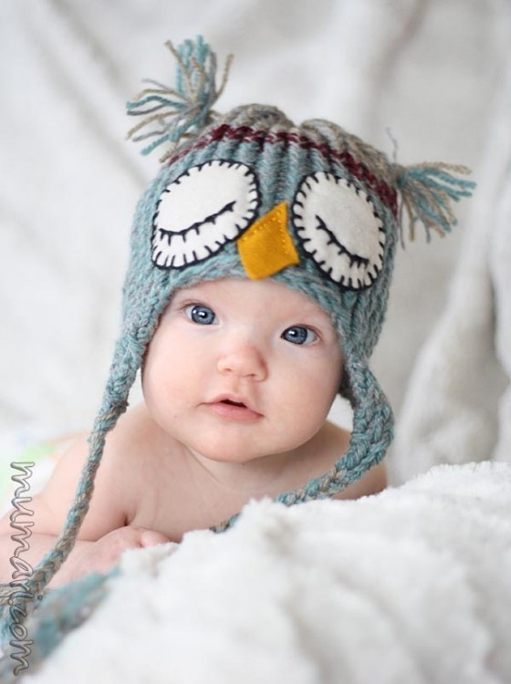 aw, cute baby hat
