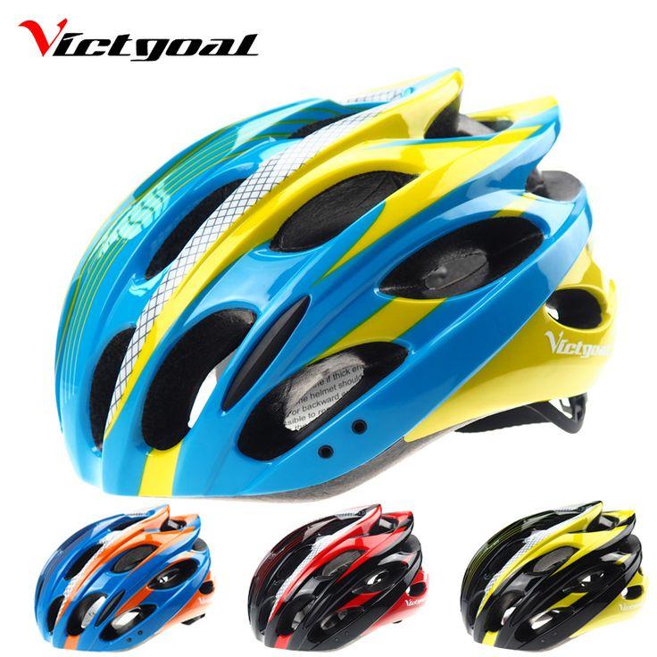 VICTGOAL Fietshelmen Mannen Ultralight Helm Bergweg Fiets Nachtlampje Integraal Gemodelleerd Fietshelm H1042