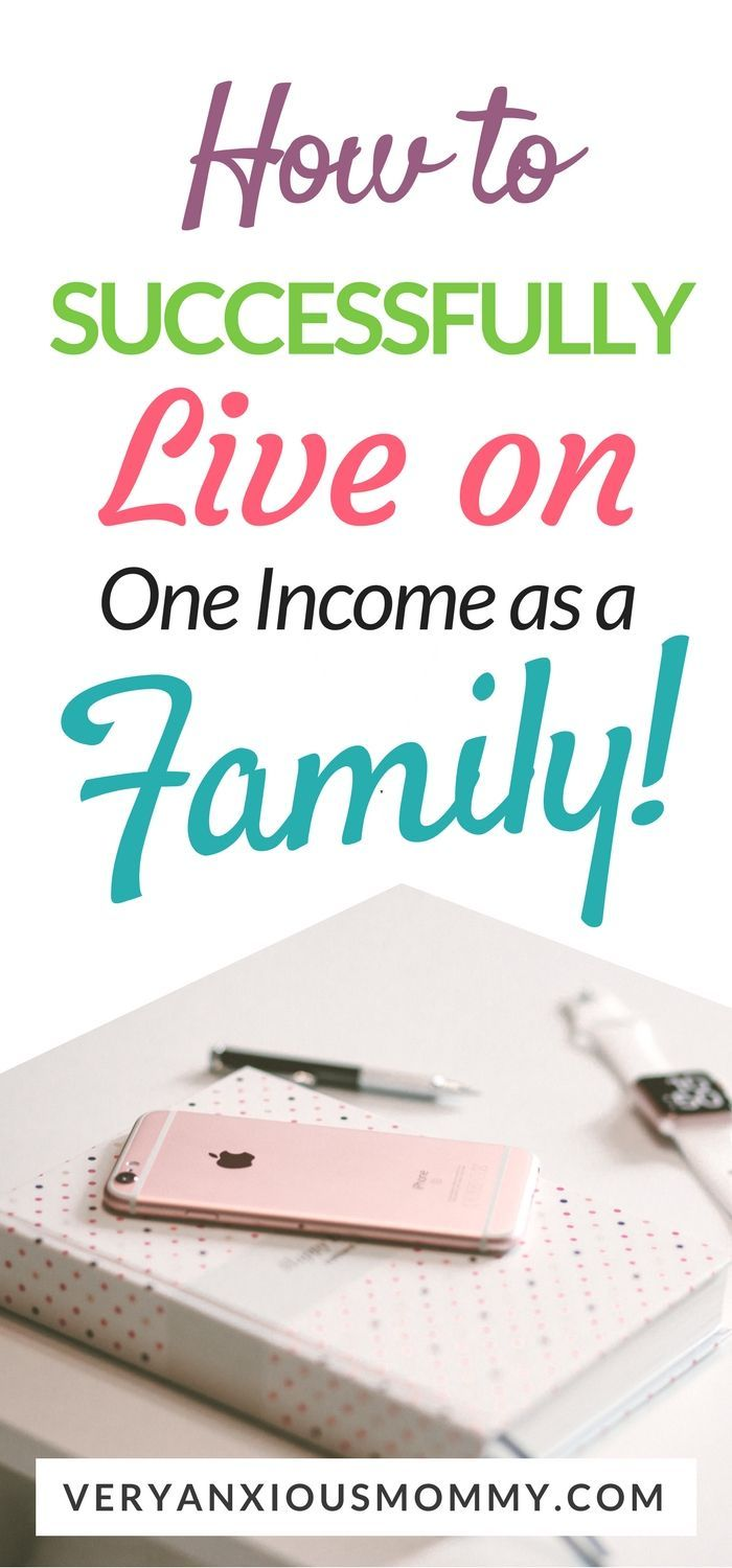 How we were able to live as a family of four on one very low income successfully. We learned to save money and budget like crazy.