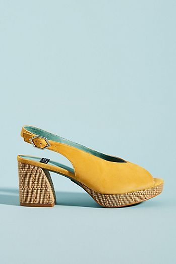 4f2b29a644 LAB Rafia Slingback Heels in 2019 | Shoes | Shoes, Heels, Slingback ...
