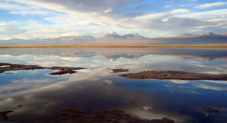 Laguna Tebinquinche, Atacama Chile