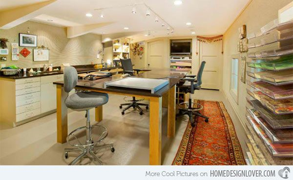 15 Concepts in Designing Your Houses Craft Room