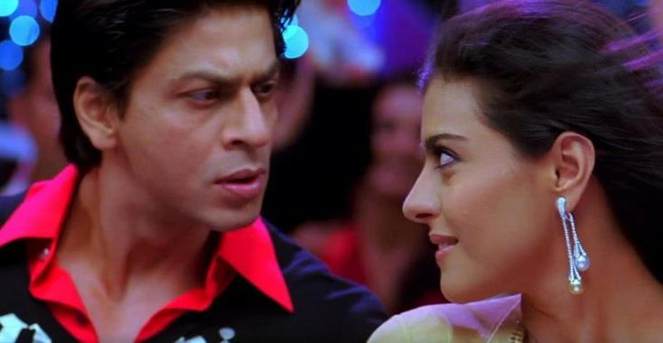 Shahrukh Khan and Kajol, best scene from this movie!