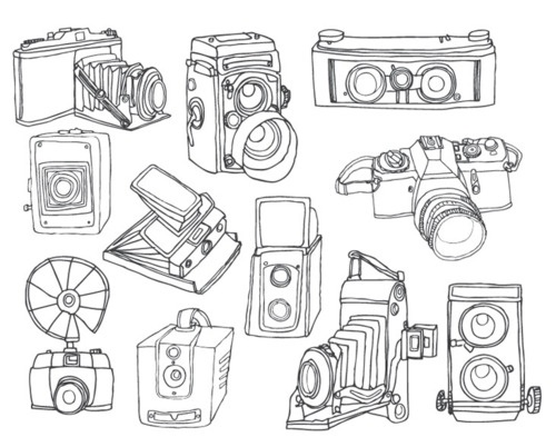 254 best Retro cameras images on Pinterest Camera drawing