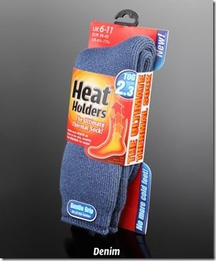 Heat Holders: The Ultimate Thermal Sock December 17, 2013 by Momstart Leave a Comment