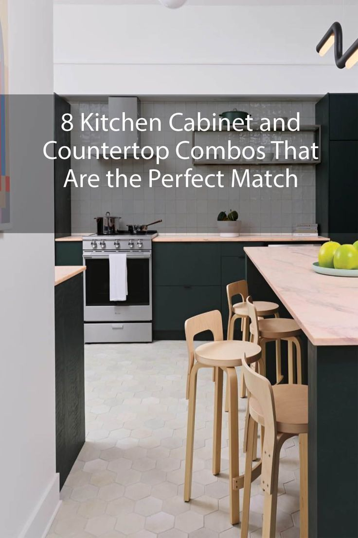 8 Kitchen Cabinet And Countertop Combos That Are The