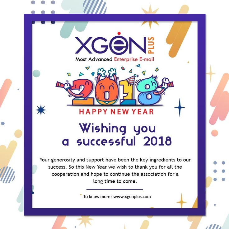 We wish you a new year filled with wonder, peace, and Success. Happy 2018! #Xgenplus #Happynewyear