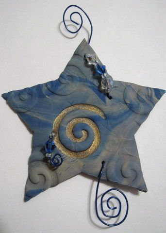 Fimo Ornament: Clay Ornaments, Clay Holidays, Handmade Ornaments, Ornaments Ideas, Clay Crafts