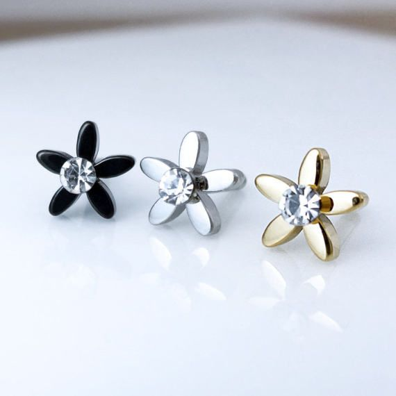 Check out this item in my Etsy shop https://www.etsy.com/listing/515212015/flower-piercingbarbell-piercing-helix