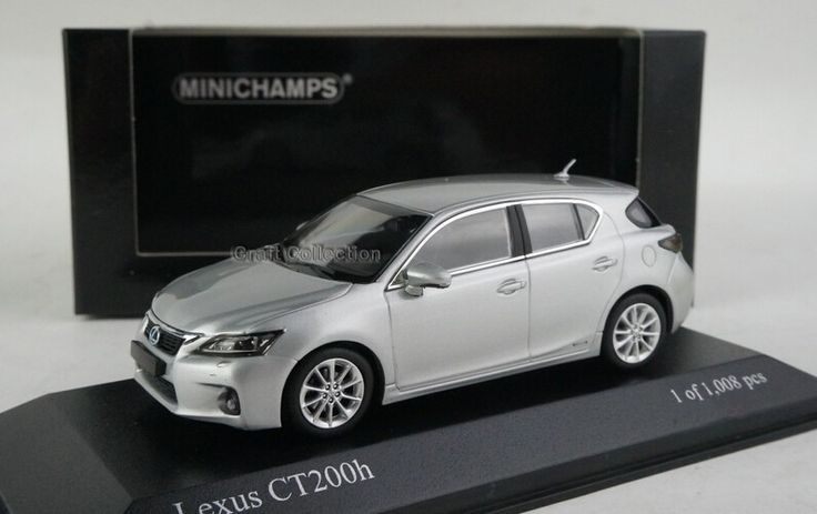 (49.80$)  Watch here - http://airc6.worlditems.win/all/product.php?id=32583071652 - Silver 1/43 Minichamps LEXUS CT200h CT200 Diecast Model Car Aluminum Die casting Products Mini Cars Several Colors