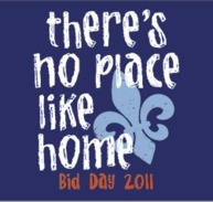 Bid Day shirt and theme! Ah this is a problem I want them all! #pledgemomprobz