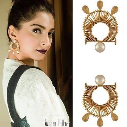 Sonam Kapoor Earrings by Suhani Pittie