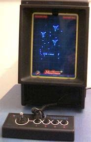 La #Vectrex, première console vectorielle sortie en 1984