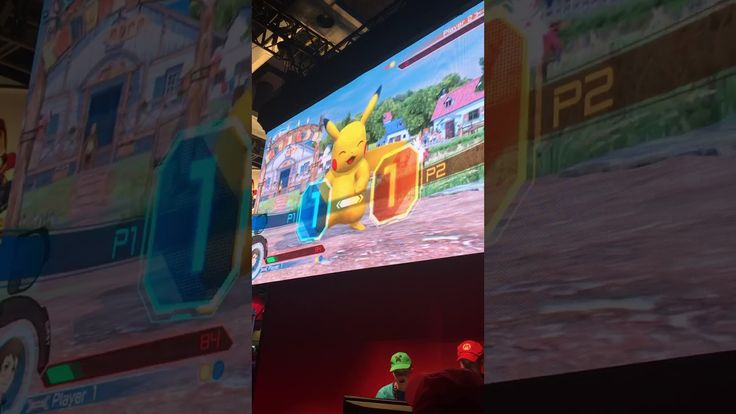 Some Pokken Tournament DX game footage I took at PAX