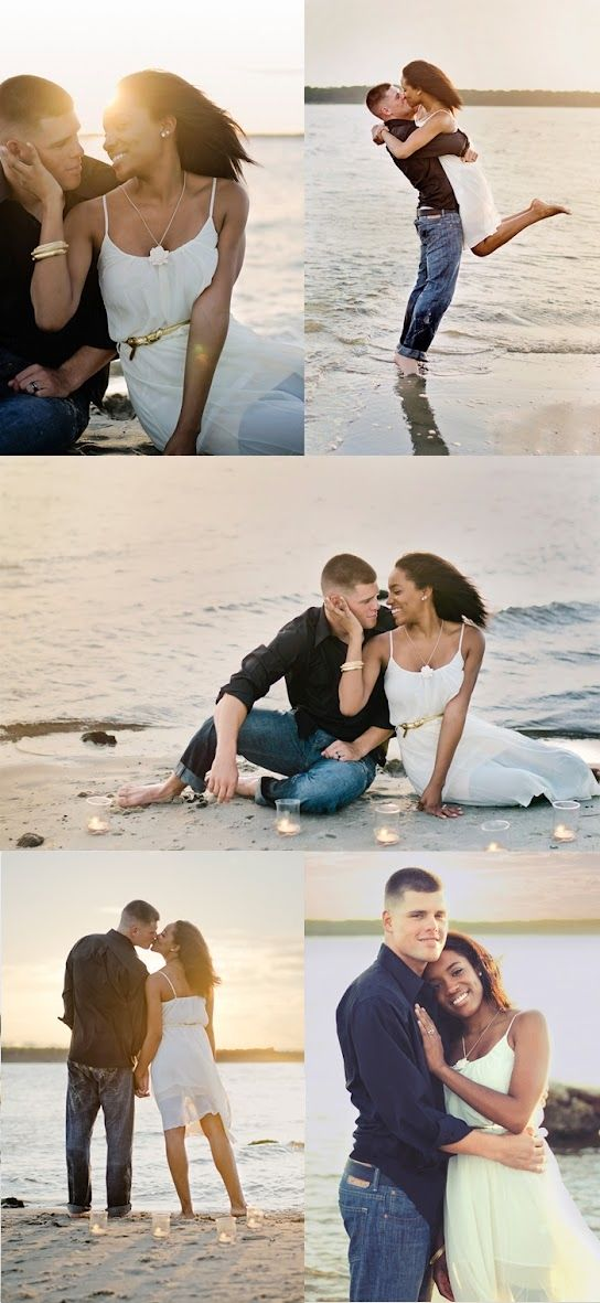 These are adorable!!! I want to take my engagement pics on the beach so bad…