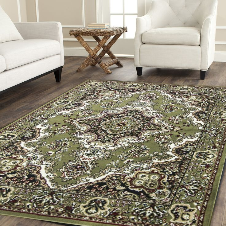 108 area rugs 8x10 clearance rugs for living room and 5x7 rugs (8x10, green)