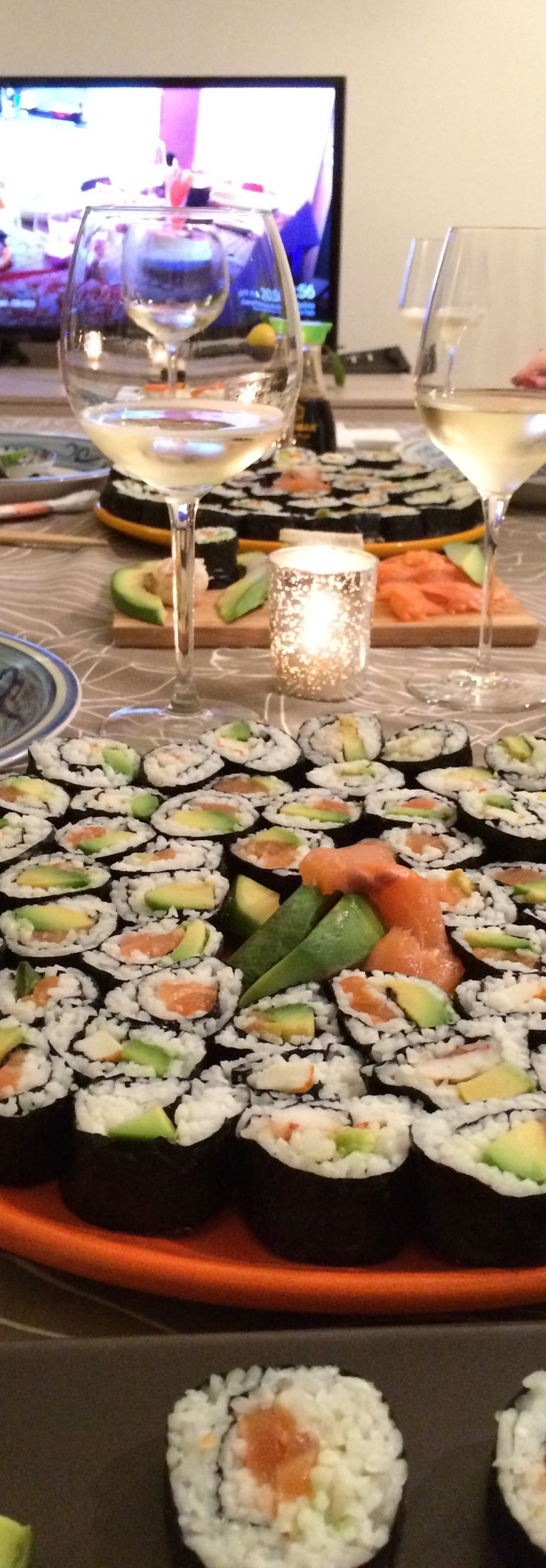Pairing wine with Sushi