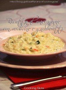 risotto al mascarpone | gamberetti | verdurine