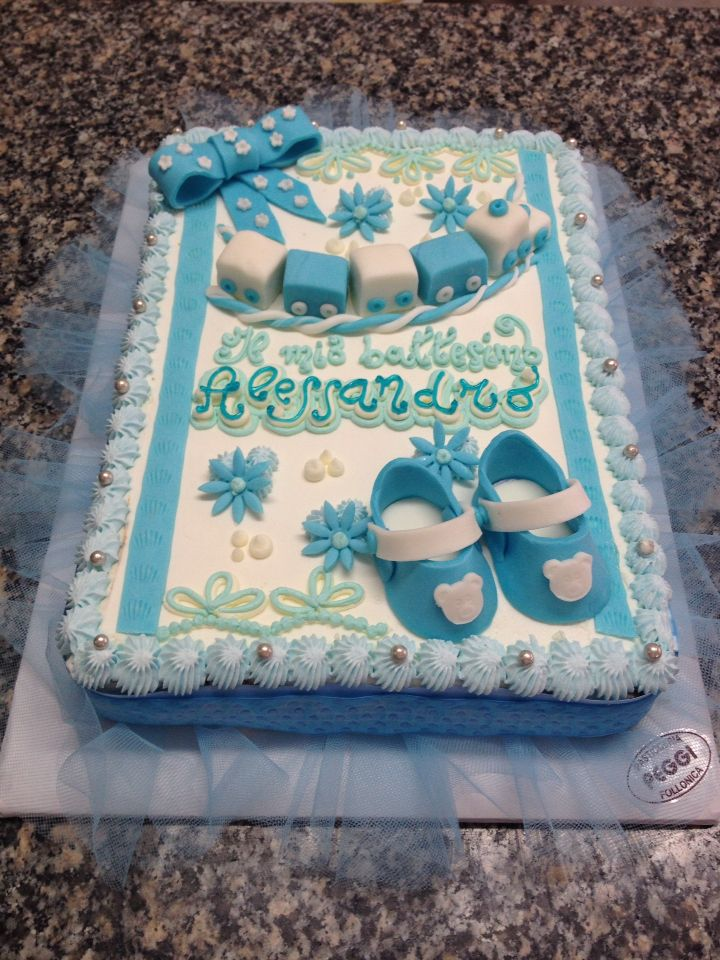 Bien-aimé 14 best Torte battesimo images on Pinterest | Cakes and Cake kids IS97