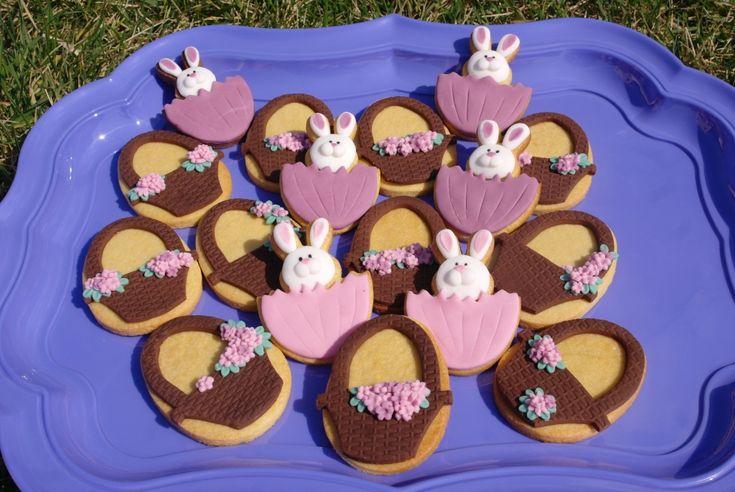 Biscotti decorati di Pasqua