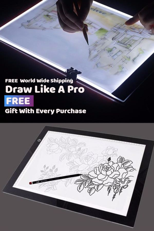 Light Drawing Pad In 2019 Blueprint Drawing Drawings
