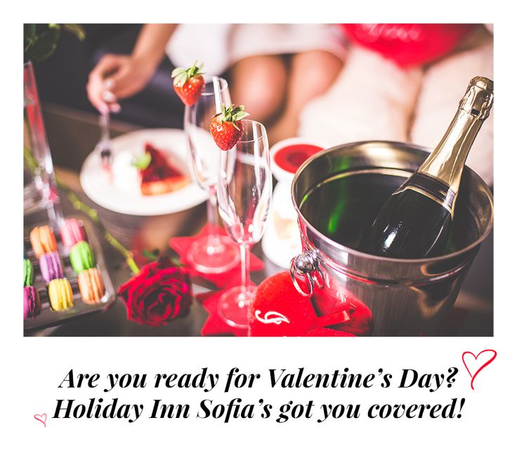 Christmas is over but the most special holiday of the year is coming up! Spend it with your significant other at Holiday Inn Sofia and take advantage of our special Valentine's Day couples offers - a 3 course meal or access to our superb pool and spa facilities, or why not both?  For more information : http://www.hisofiahotel.com, info@holidayinnsofia.bg or +359 (0) 2 807 07 07  http://www.hisofiahotel.com/special-offers-promotions/71/are-you-ready-for-valentine-s-day.aspx