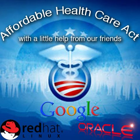 Google, Oracle, and Red Hat join the efforts to fix the Affordable Healthcare Act's website, HealthCare.gov. While this is undoubtedly good news for the buggy website and Americans trying to register, do you think is it good for these companies to align themselves with the controversial act?
