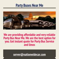Infographic: Party Buses Near Me