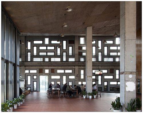 China Academy of Art, Xiangshan Campus. Wang Shu (Amateur Architecture Studio), 2007. Hangzhou, China.
