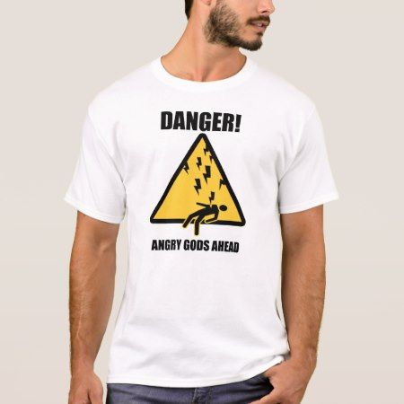 Angry Gods Ahead Tee - tap, personalize, buy right now!