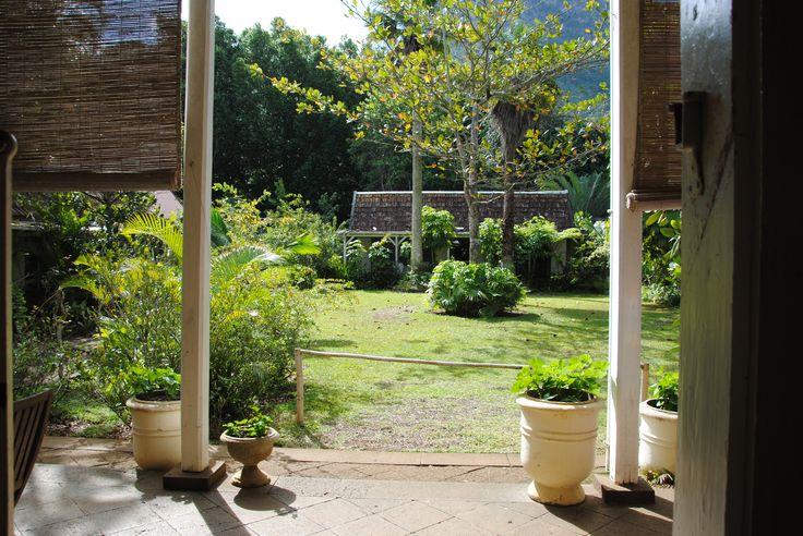 jardin de la maison Eureka  Ile Maurice