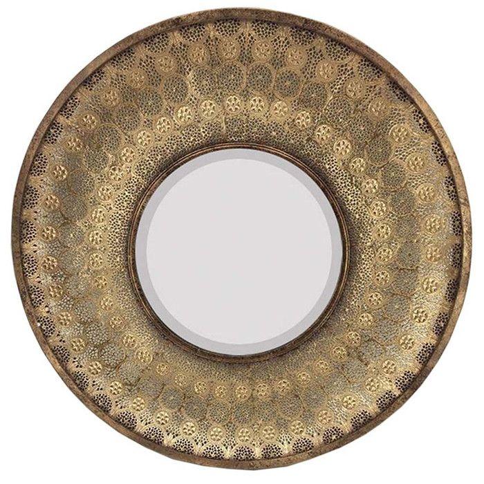 Miranda Round Oversized Wall Mirror & Reviews | Joss & Main