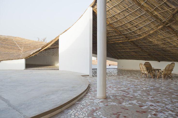 Toshiko Mori Architect, Thread building, Sinthian, Senegal. Courtesy AFLK and Thatcher Cook