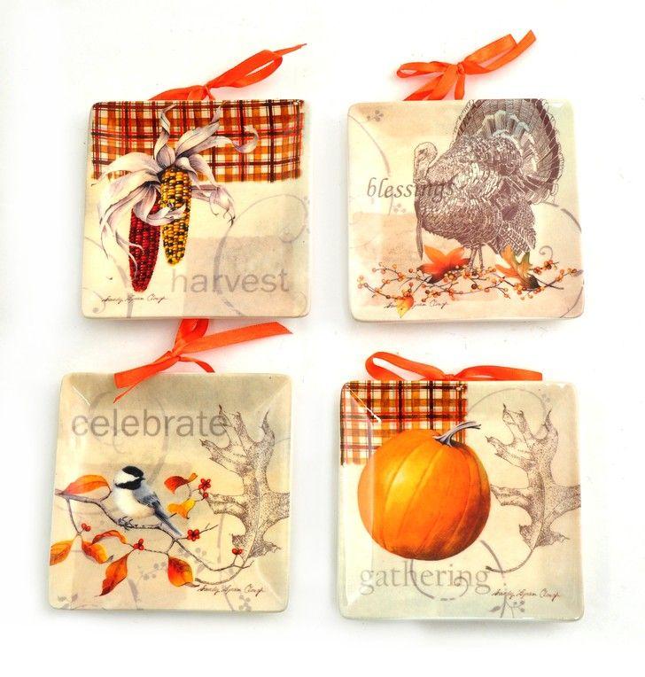Joyful Harvest Mini Plates #fall  sc 1 st  Pinterest & 28 best Mini Plates images on Pinterest | Dinner plates Dish and ...